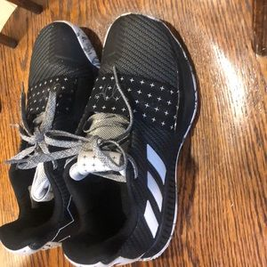 Adidas Lucky Harden Size 4 basketball shoes